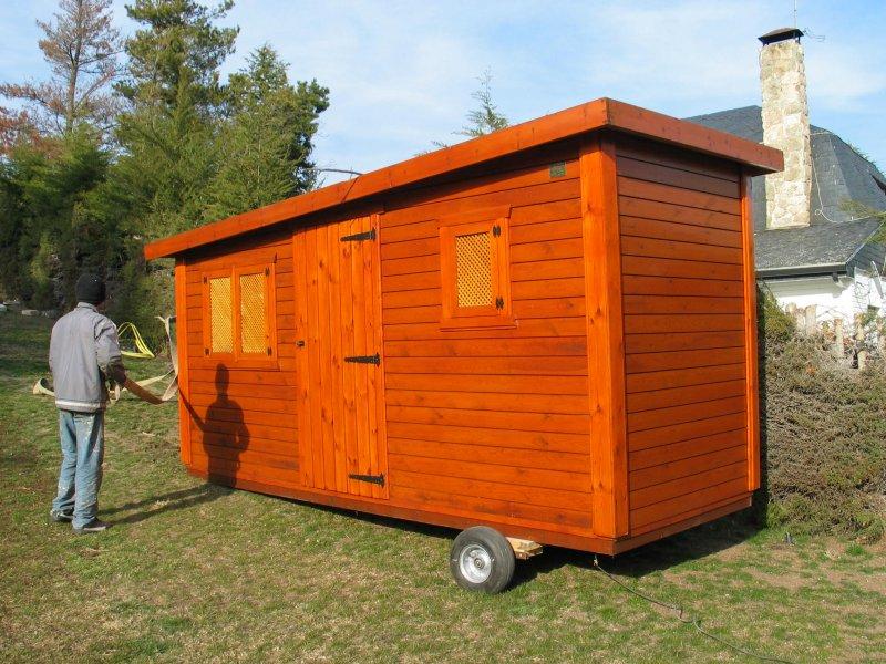Casetas de madera casas m viles jarama madrid san for Casetas de metal para jardin