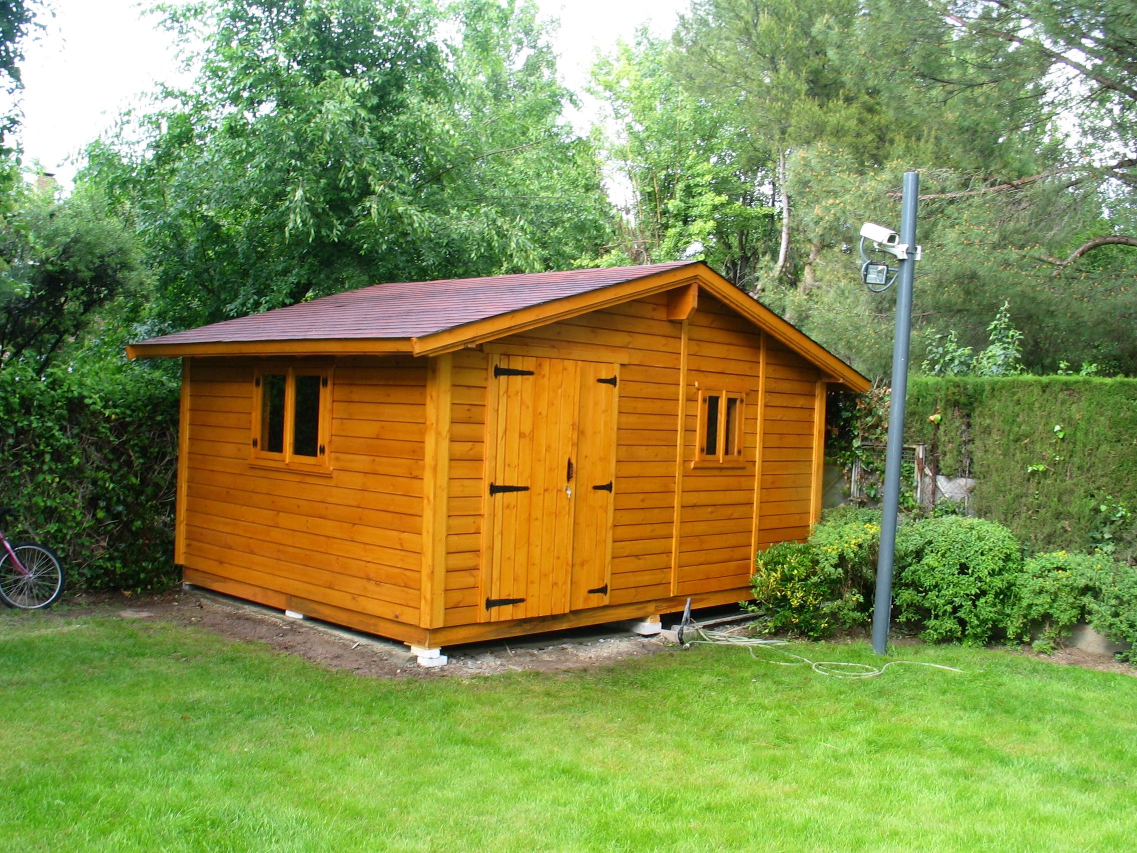 Casetas de madera a medida ideas de disenos for Casetas jardin baratas